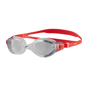 Futura Biofuse Flexiseal Swimming Goggles Clear/Red