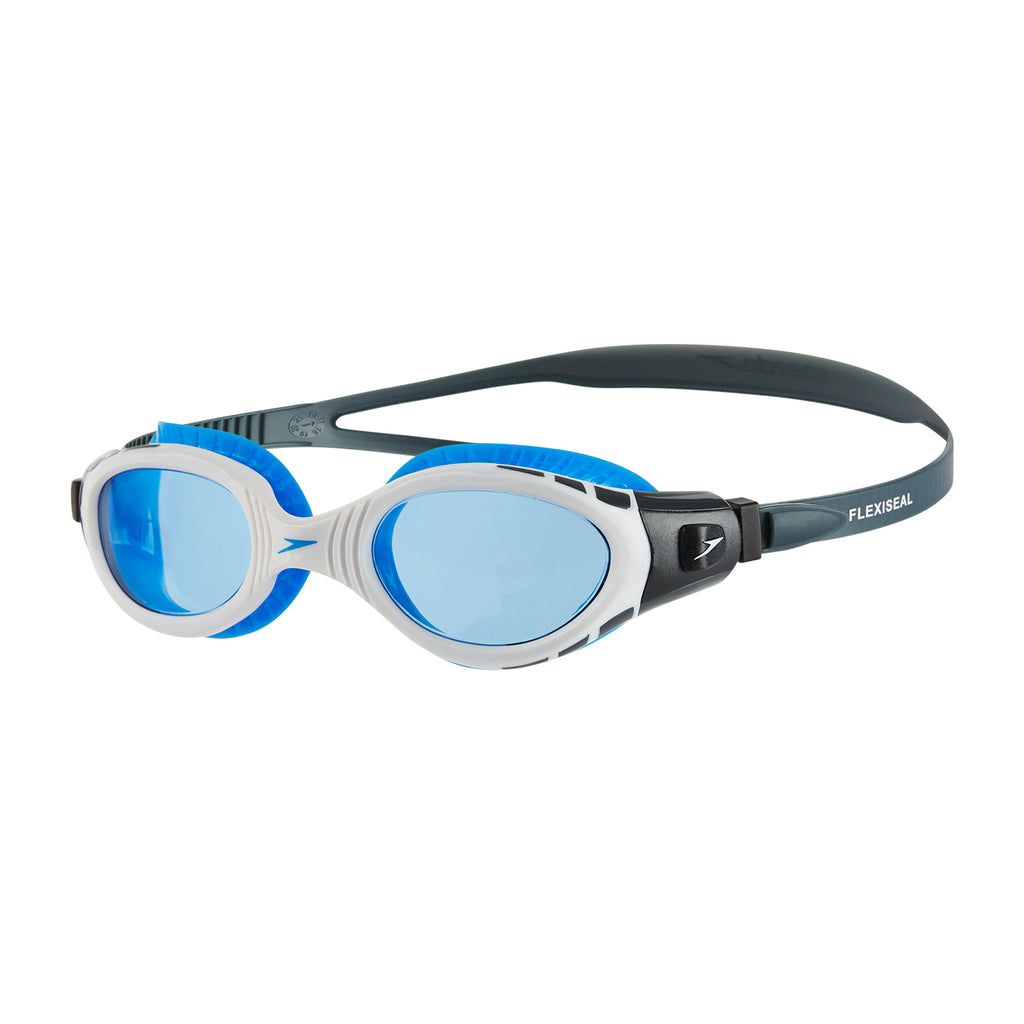 Futura Biofuse Flexiseal Swimming Goggles White/Blue