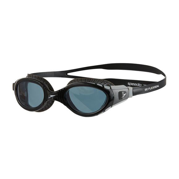 Futura Biofuse Flexiseal Swimming Goggles Black/Smoke