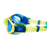 Futura Biofuse Flexiseal Junior Goggles Lime/Blue