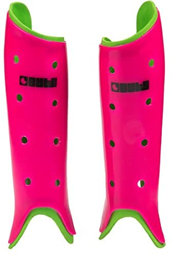 Club Hockey Shinguards Pink/Green