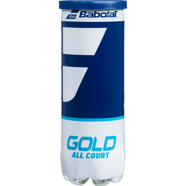 Gold All Court Tennis Balls (3 Ball Can)