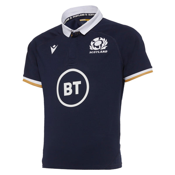 Scotland Rugby 20/21 Kids Home Replica Shirt S/S