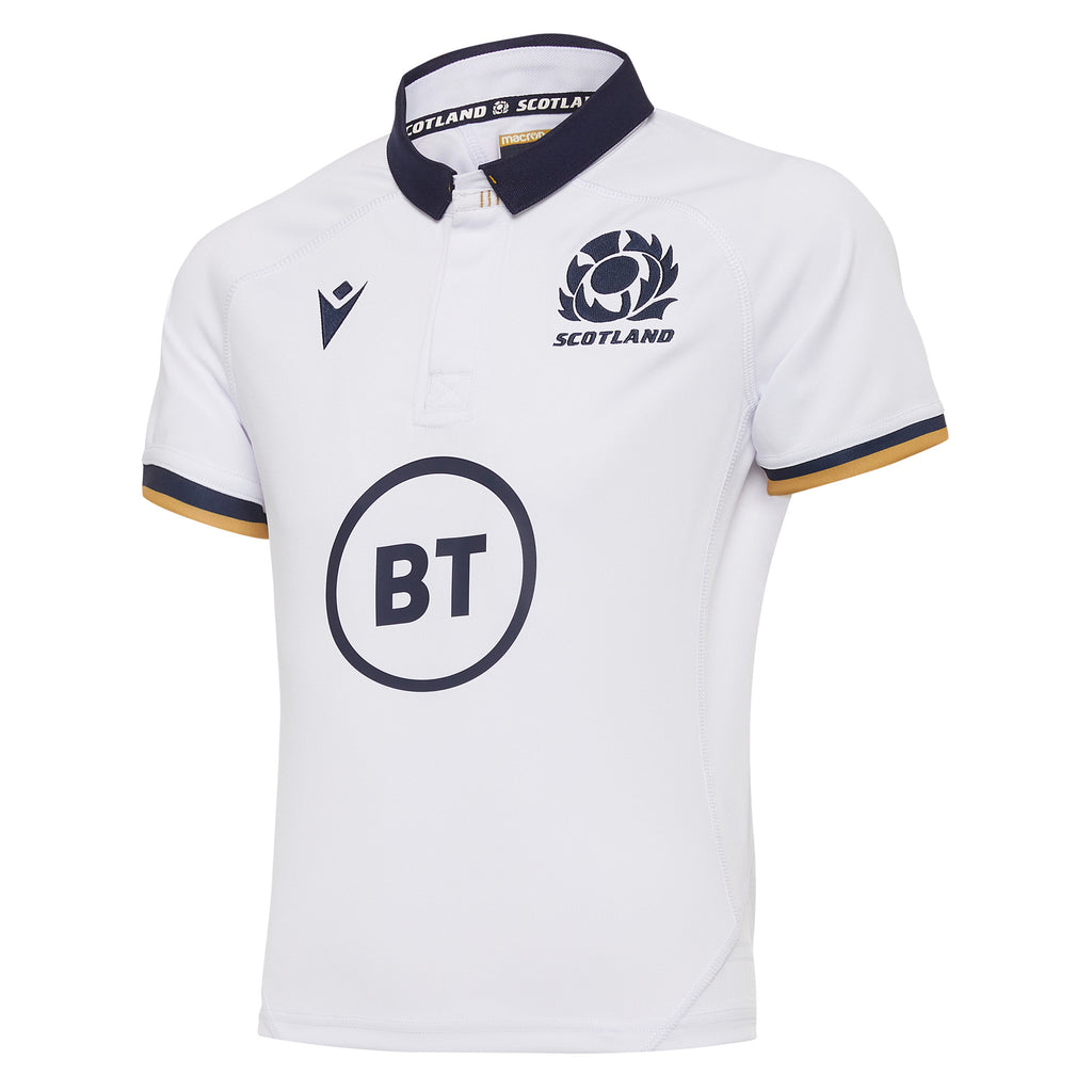 Scotland Rugby 20/21 Kids Away Replica Shirt S/S