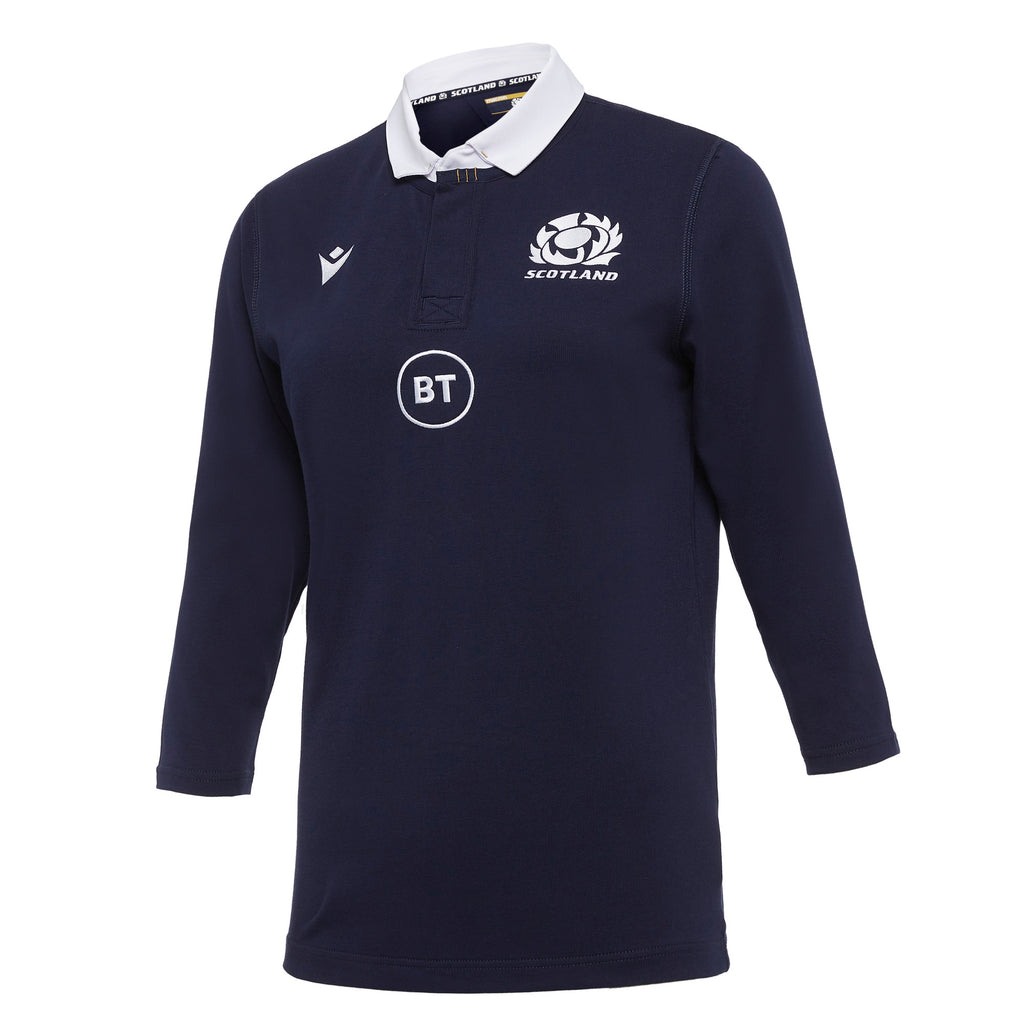 Scotland Rugby 20/21 Female Home Cotton Replica Shirt 3/4 Sleeve