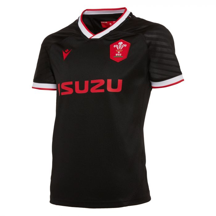 Wales Rugby 20/21 Kids Away Replica Shirt S/S