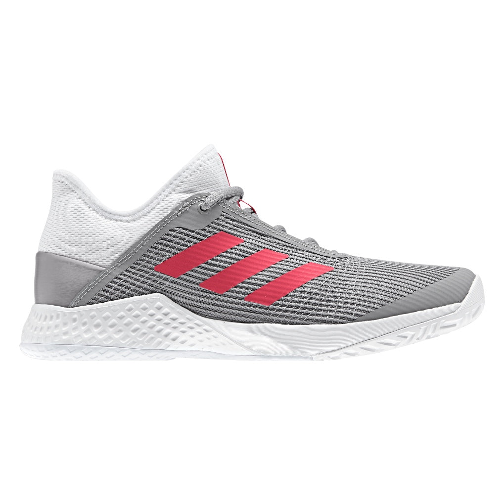 adizero Club W Tennis Shoes White/Red/Grey (2019)