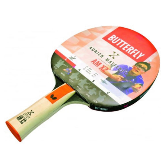 Adrien Mattenet AM X2 Table Tennis Bat