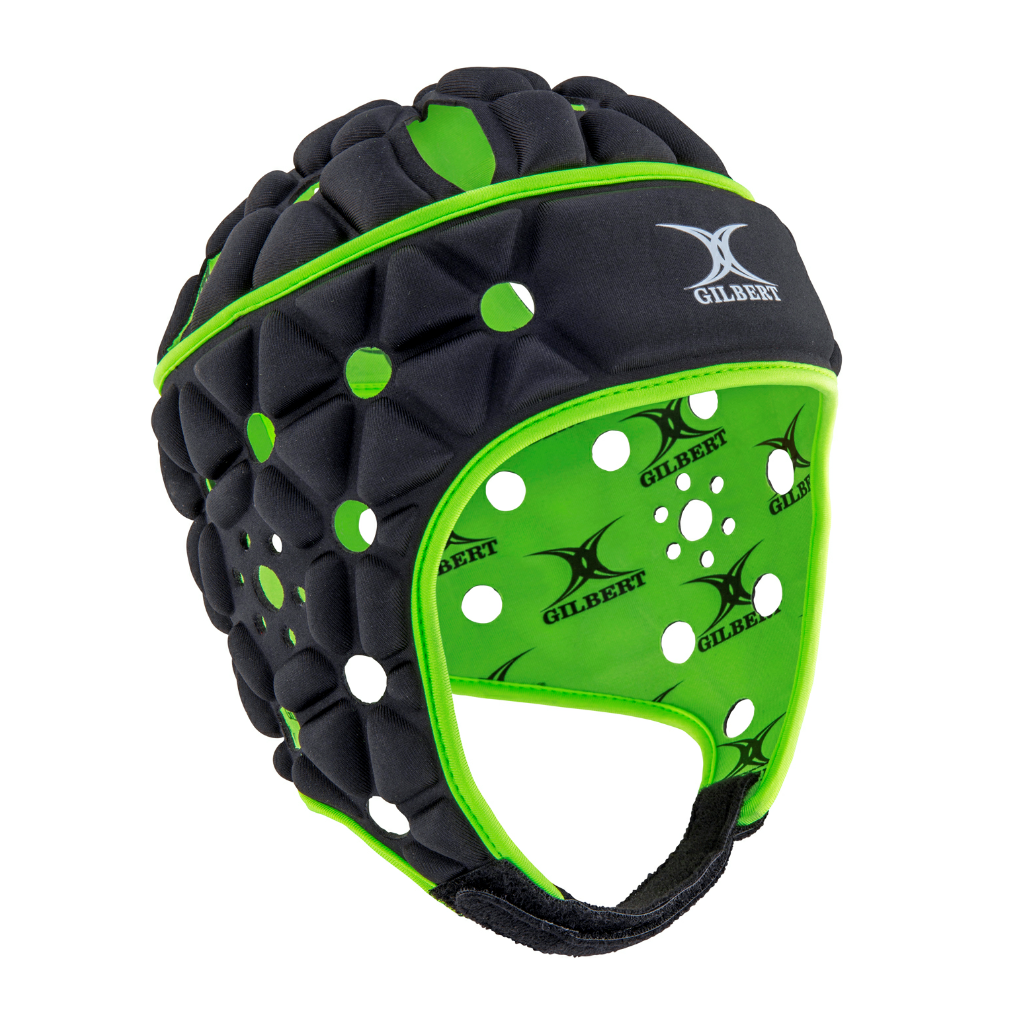 Air Rugby Headguard Black/Green