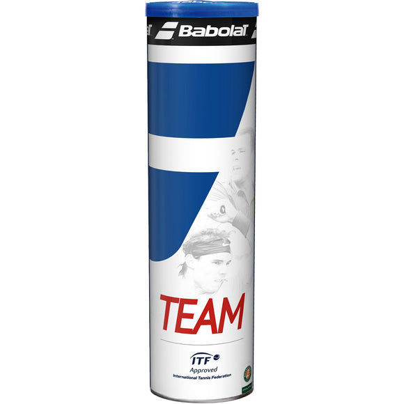 Babolat Team Tennis Balls (4 Ball Can)