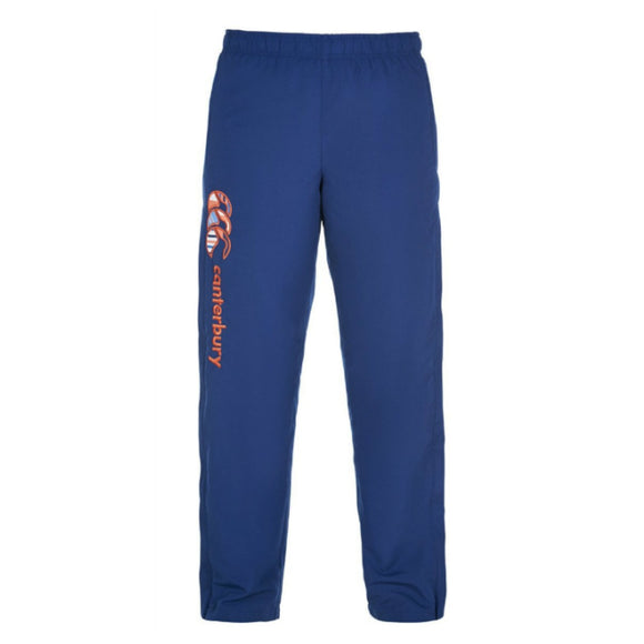 Uglies Open Hem Stadium Pants Ladies Estate Blue/Coral