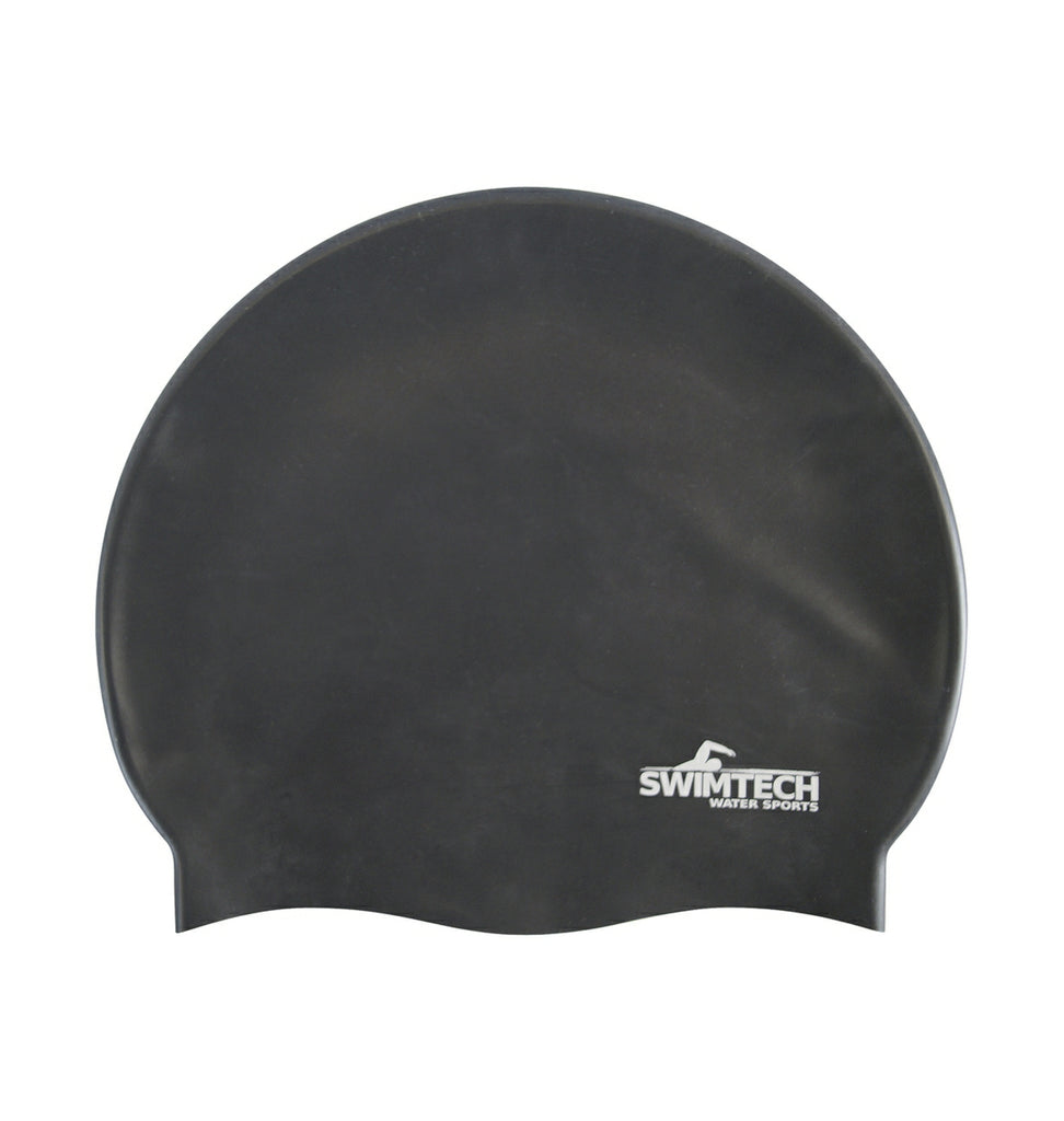 Silicone Swim Cap Black