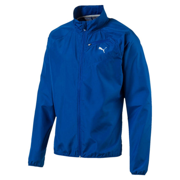 Core Run L/S Mens Full Zip Jacket True Blue