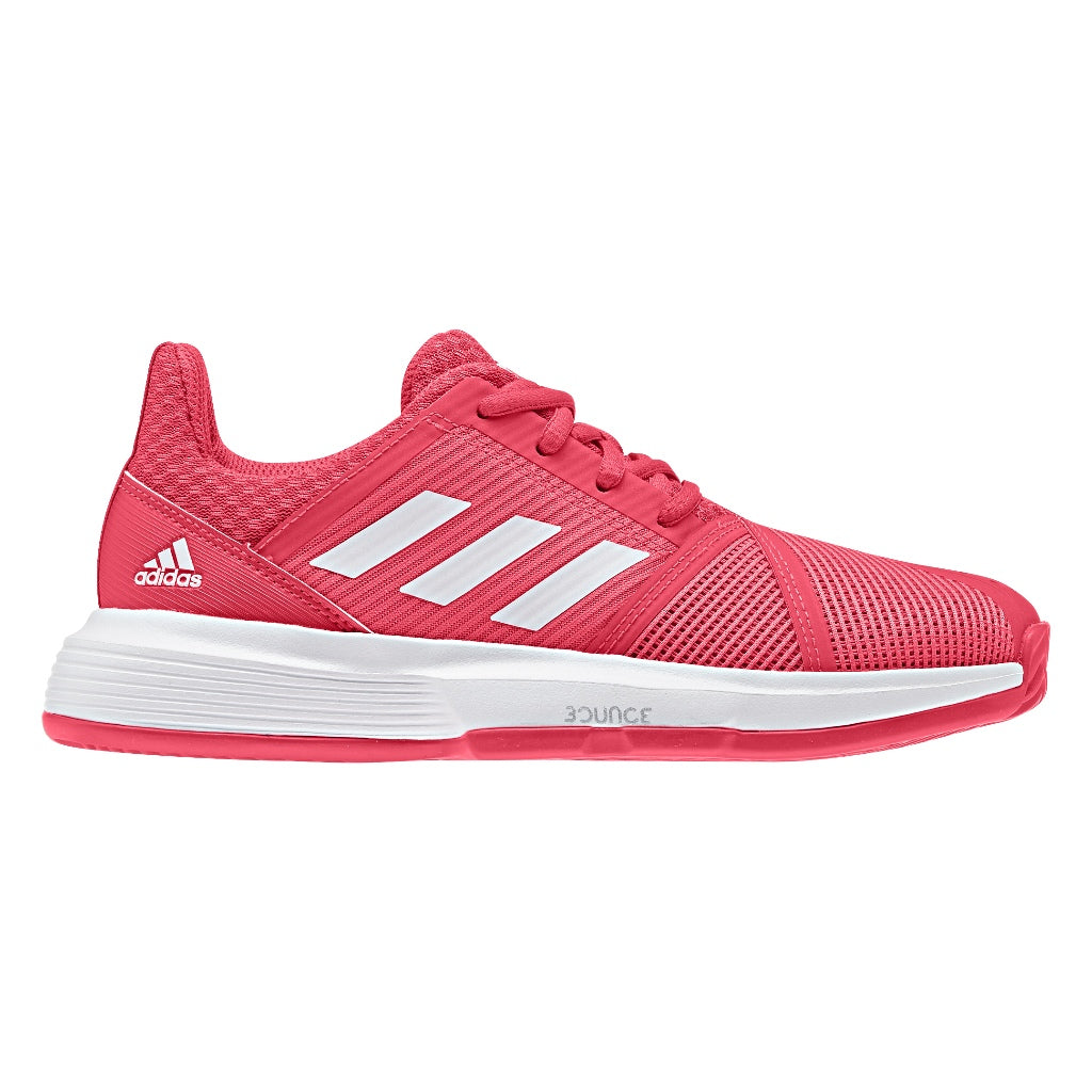 CourtJam XJ Kids Tennis Shoes Shock Red/White (2019)