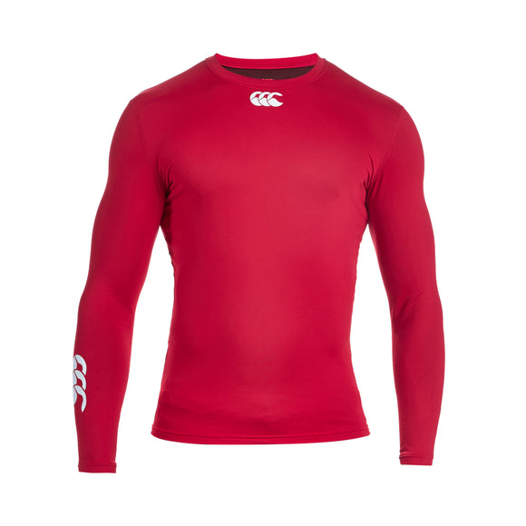 Baselayer Cold Long Sleeve Top Flag Red