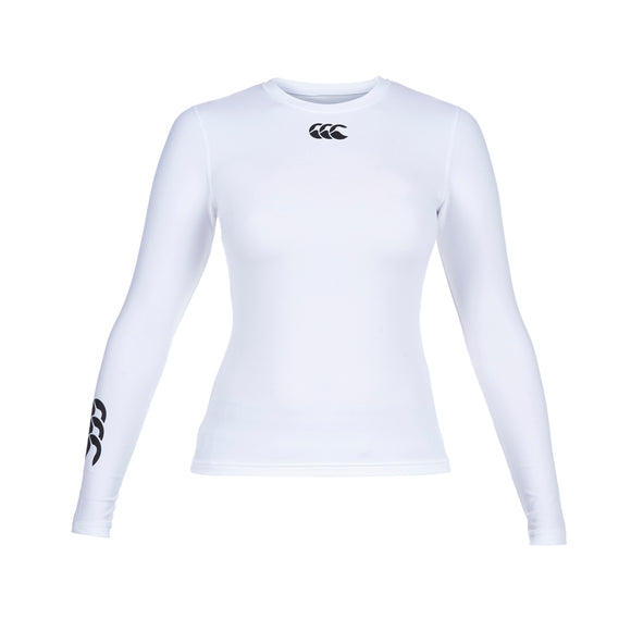 Baselayer Cold Long Sleeve Top Ladies White