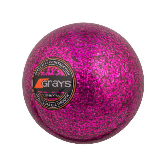Glitter Xtra Hockey Ball Pink