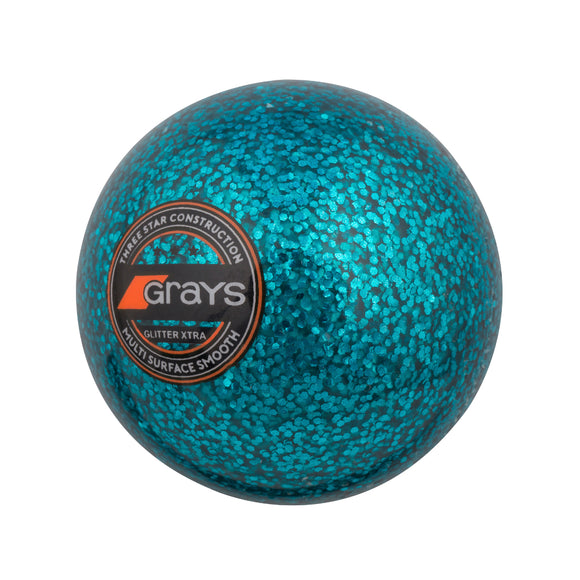 Glitter Xtra Hockey Ball Teal