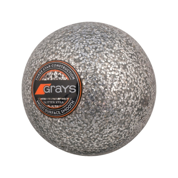 Glitter Xtra Hockey Ball Silver