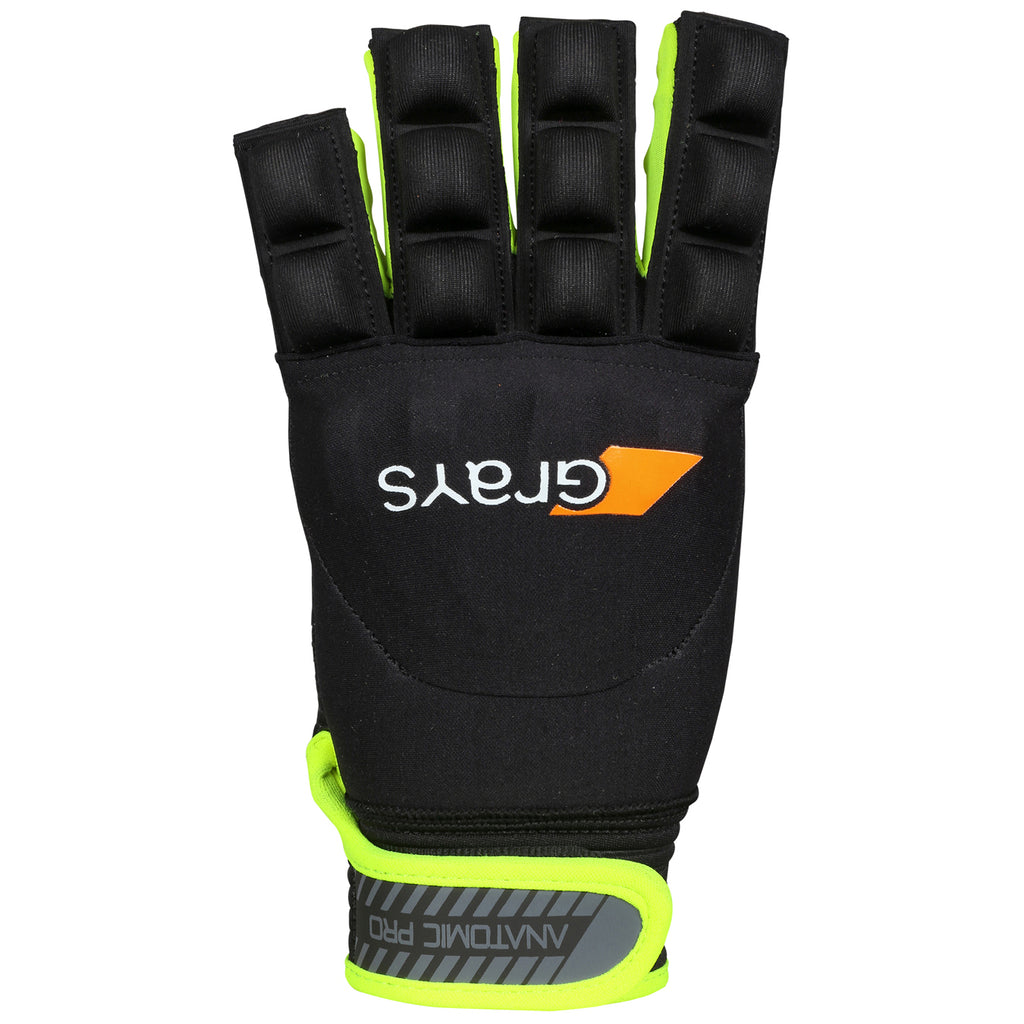 Anatomic Pro Hockey Glove Black/Yellow