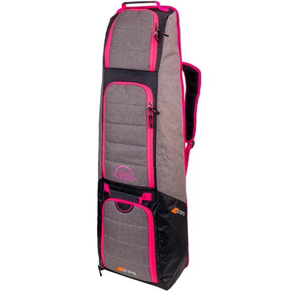 G7000 Hockey Kitbag Grey/Pink