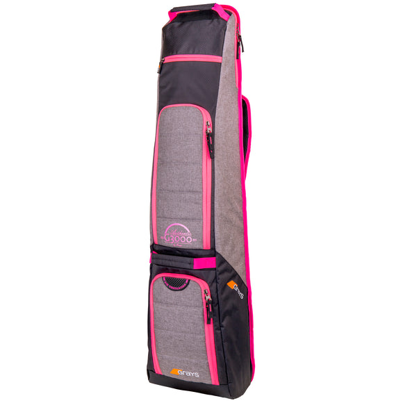 G3000 Hockey Kitbag Grey/Pink