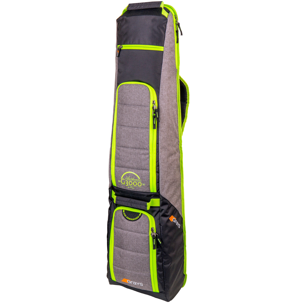 G3000 Hockey Kitbag Grey/Lime