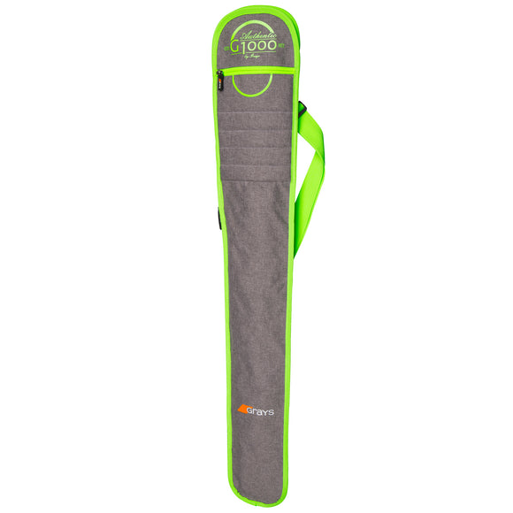 G1000 Hockey Stick Bag Grey/Lime