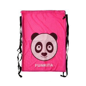 Mesh Gear Swimming Bag 'Aqua Panda'