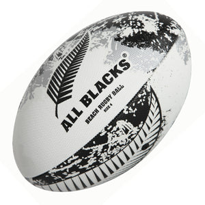 New Zealand All Blacks Beach Rugby Ball White