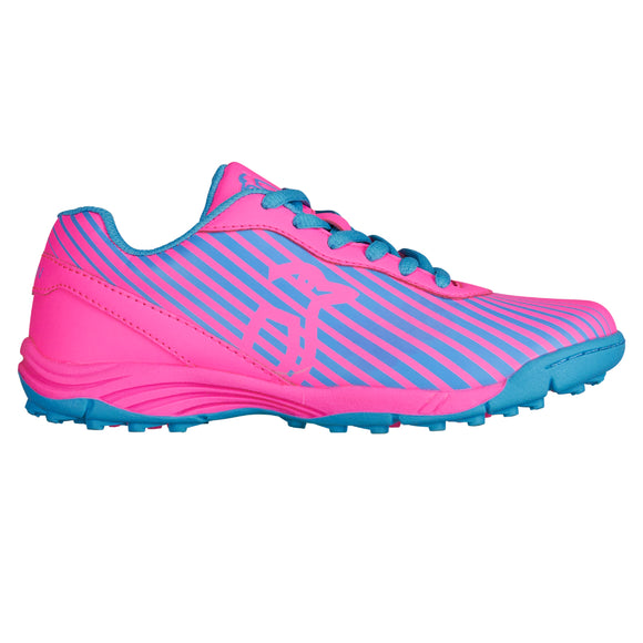 Neon Hockey Shoe Pink/Blue
