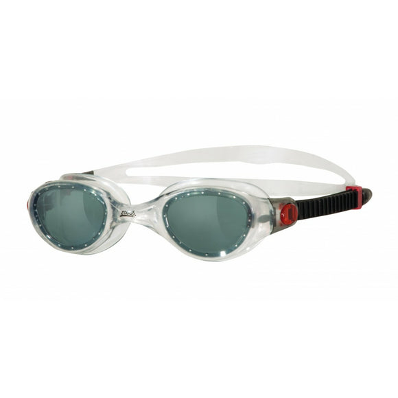 Phantom Swimming Googles Black/Clear/Red