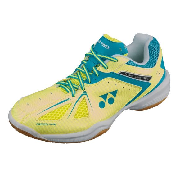 Power Cushion 35 Indoor Court Shoes Yellow/Saxe Blue