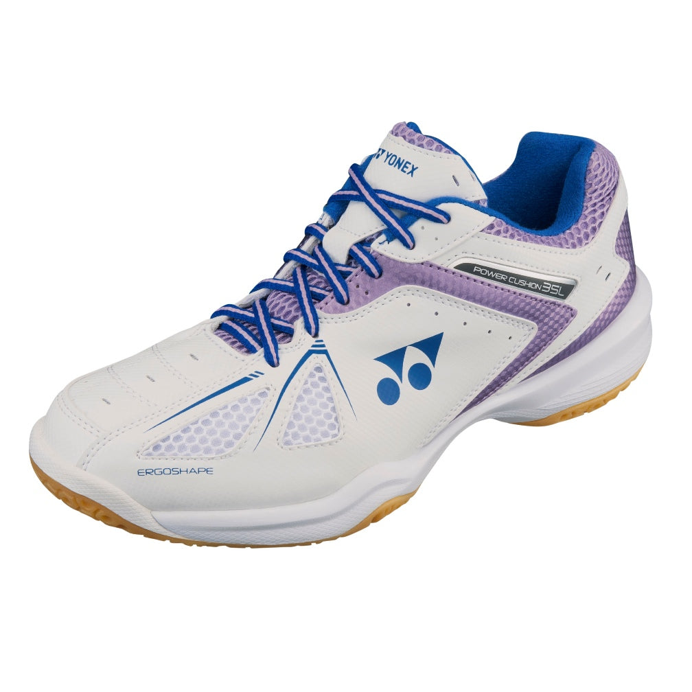 Power Cushion 35 Indoor Court Shoes White/Lavender