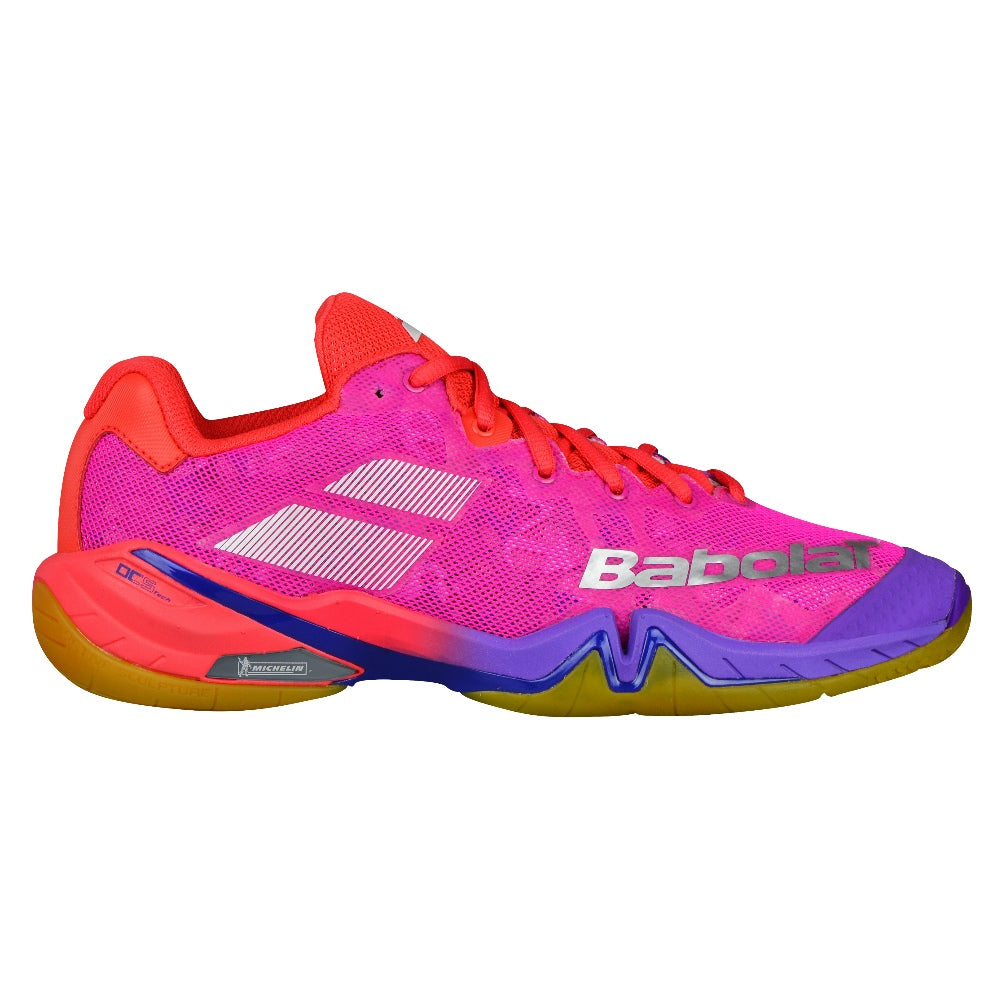 Shadow Tour Indoor Court Shoes Pink/Purple