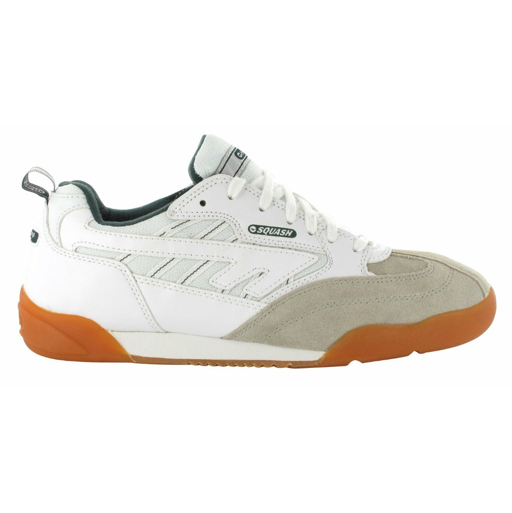 Squash Classic Indoor Court Shoes White/Green