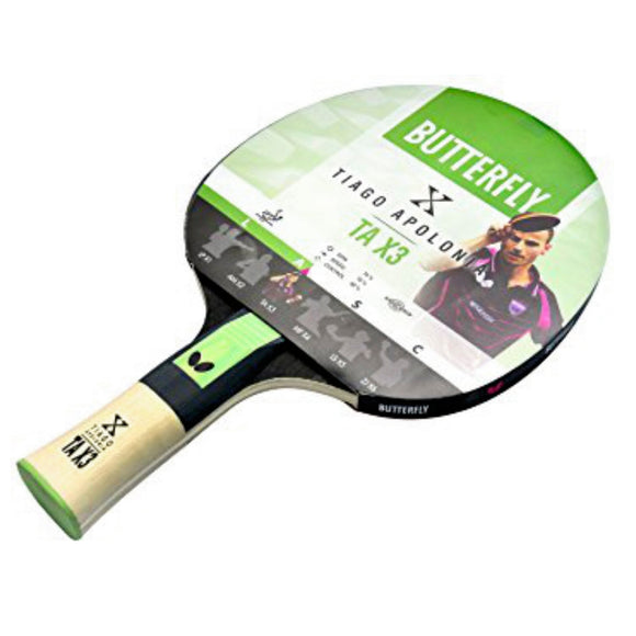 Tiago Apolonia TA X3 Table Tennis Bat