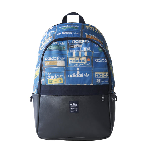 Shoebox Backpack Blue/Black