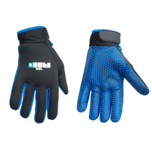 Gel Pro Skin Fit Hockey Gloves Black/Blue