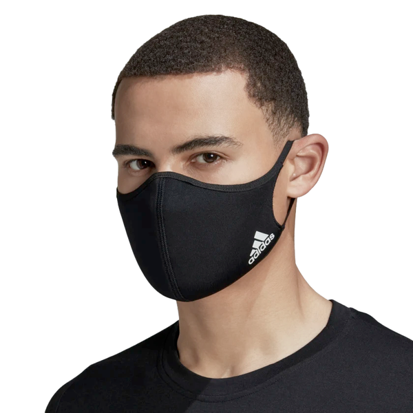 Face Covers 3-Pack Black