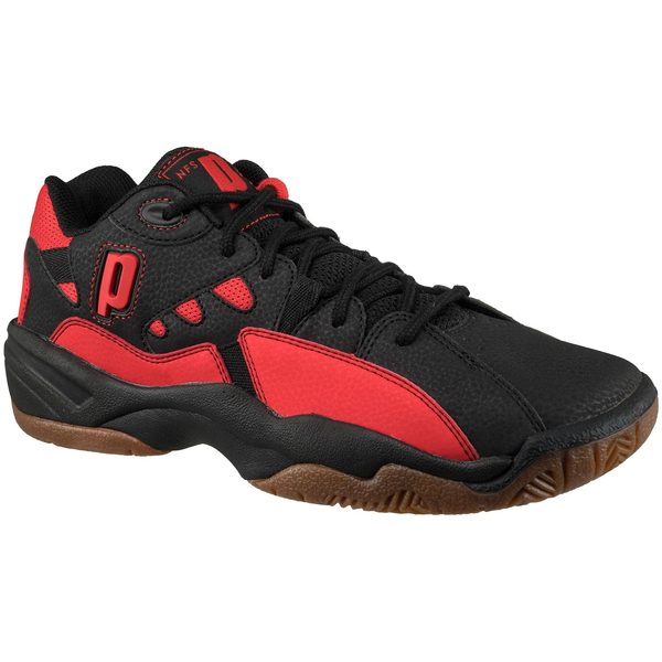 NFS Indoor II Court Shoes (Black/Red)