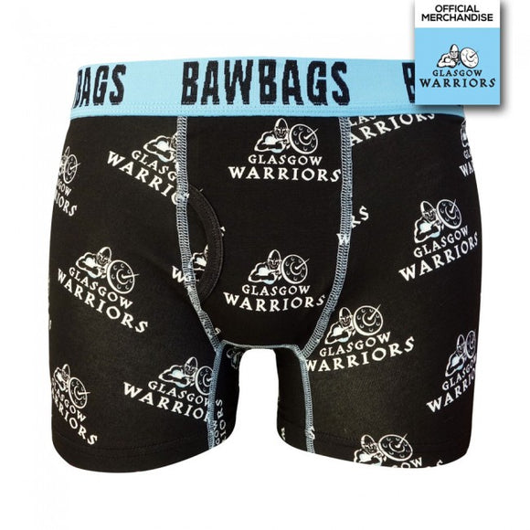 Glasgow Warriors Badge Original Mens Boxer Shorts