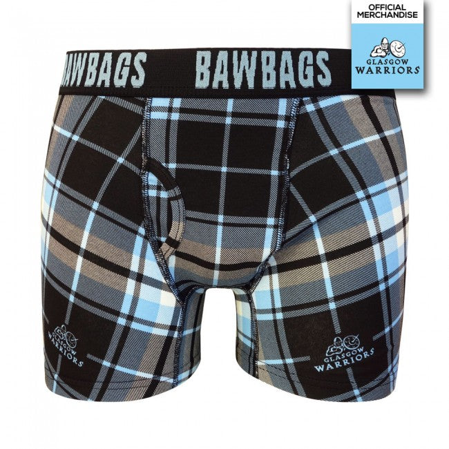 Glasgow Warriors Tartan Original Mens Boxer Shorts