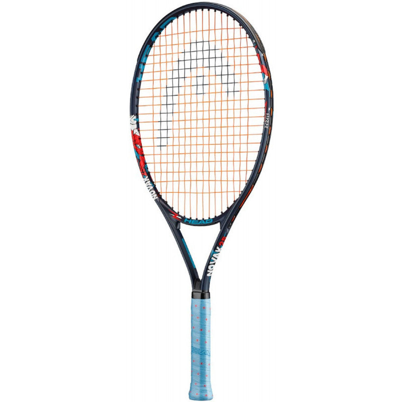 Novak Junior Series Tennis Racquet Navy/Red