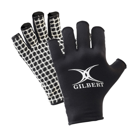 International Rugby Gloves Black/White