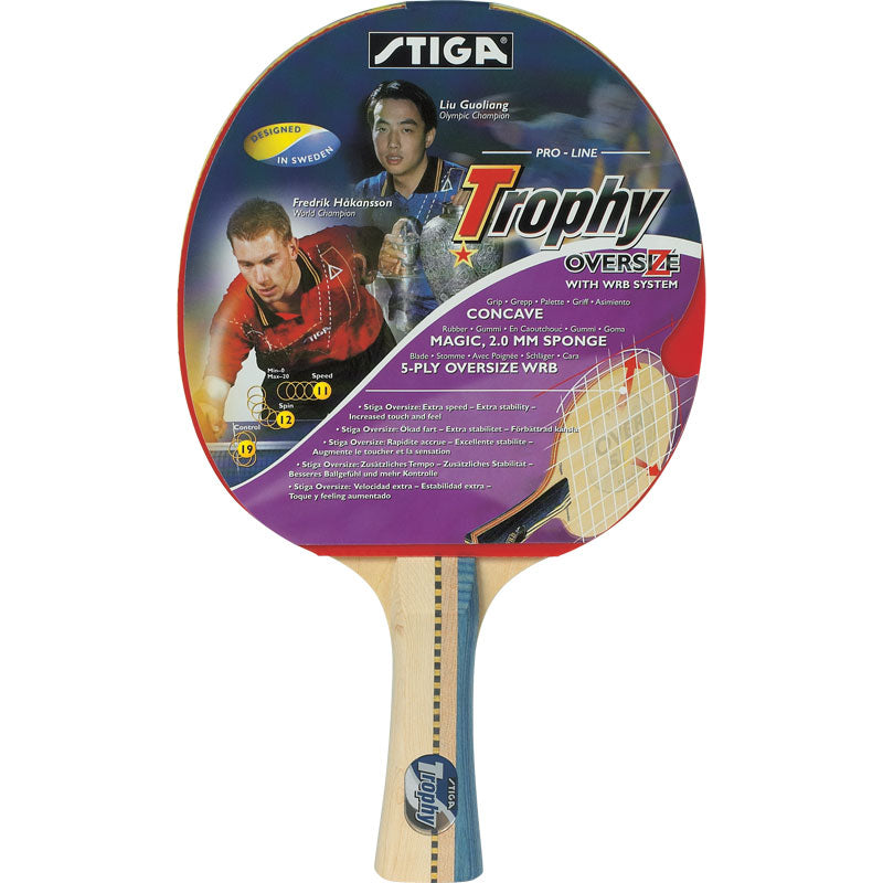 Trophy Table Tennis Bat
