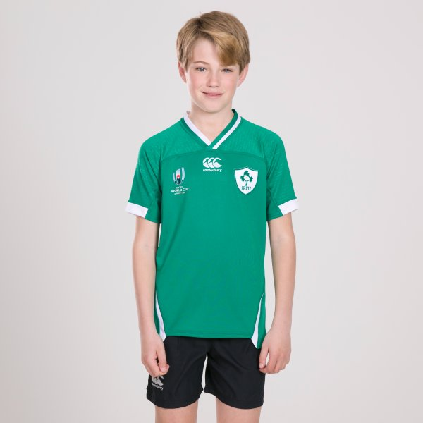 Ireland RWC 2019 Home Pro S/S Rugby Shirt Kids