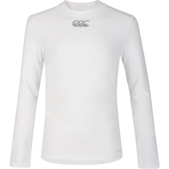 Thermoreg Long Sleeve Baselayer Top Junior White