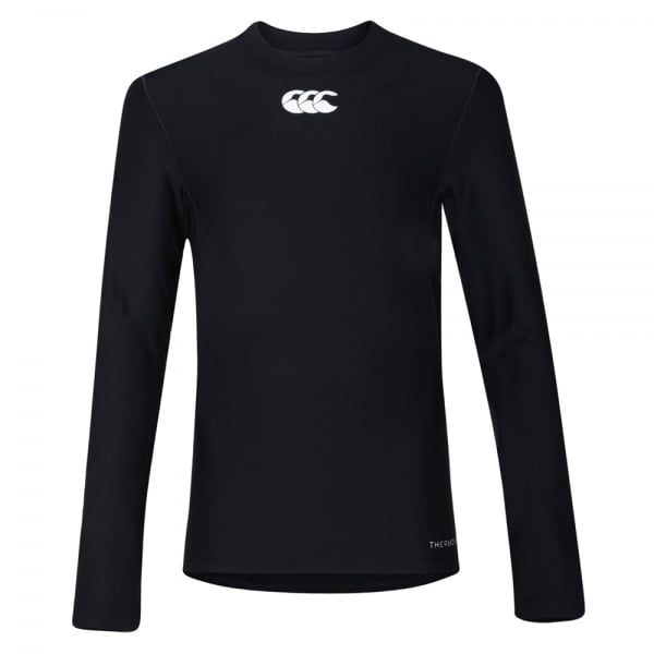 Thermoreg Long Sleeve Baselayer Top Junior Black