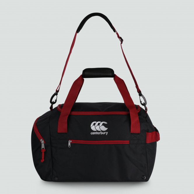Vaposhield Medium Sportsbag Holdall Black/Red